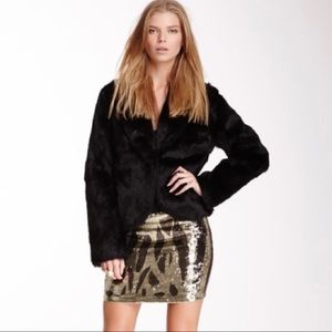 Haute Hippie Sequin Mini Skirt RB
